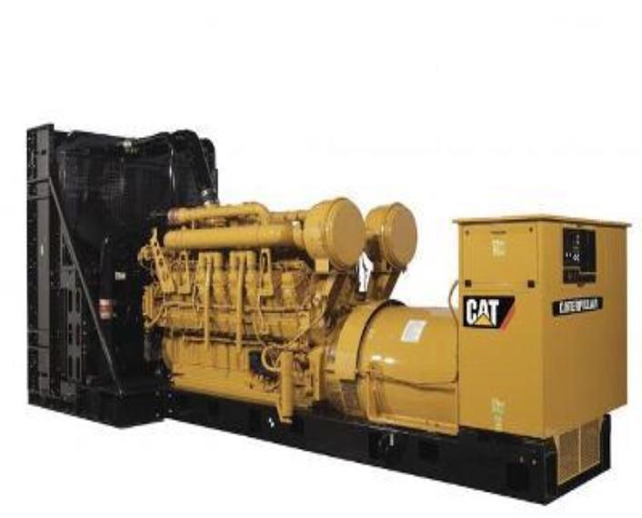 2009 Caterpillar 3516C HD Generator Set