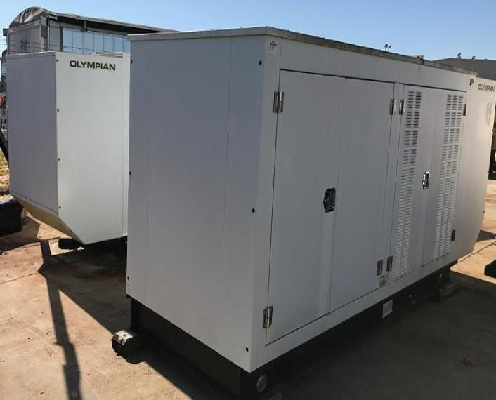 2011 Olympian G150LG2 Generator Set   IMP