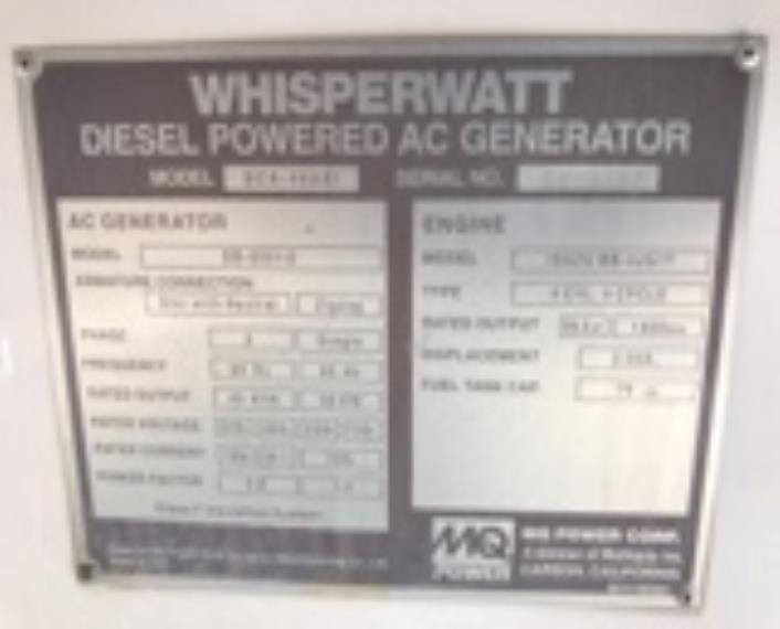 Multiquip DCA45 Generator Set | IMP