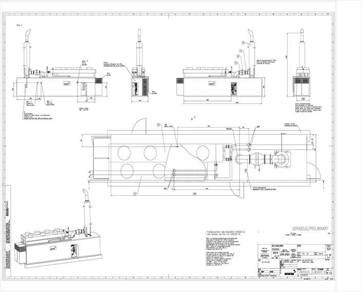 MWM TCG 2020 V 16 OLS K Generator Set