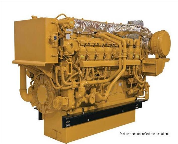 2012 Caterpillar 3516C HD Generator Set