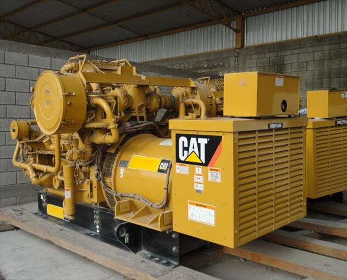 2007 Caterpillar G3508 Generator Set