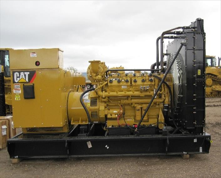 Caterpillar G3412 Generator Set   IMP