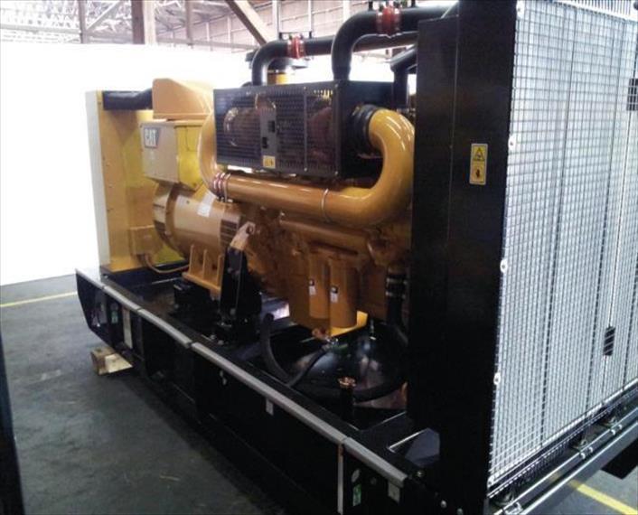 2012 CAT C18 Generator Set