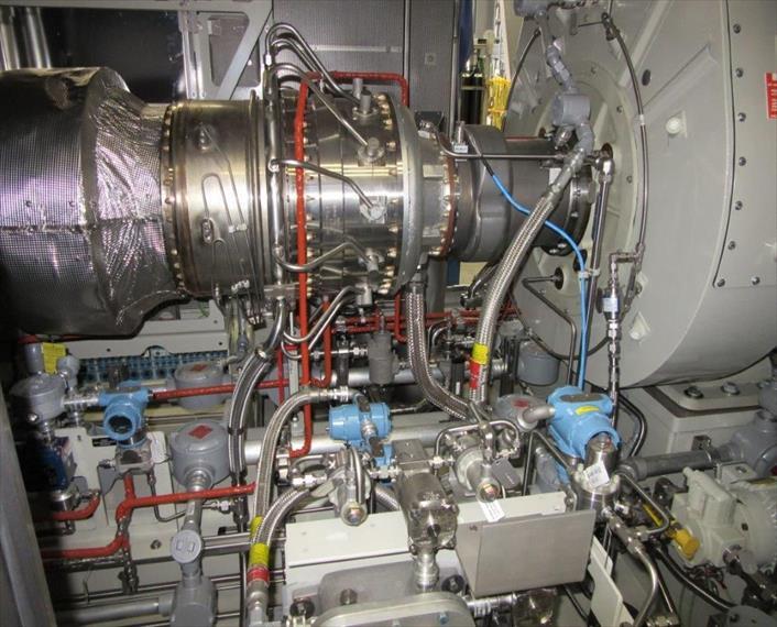 2012 Solar Saturn 20 Generator Set Imp