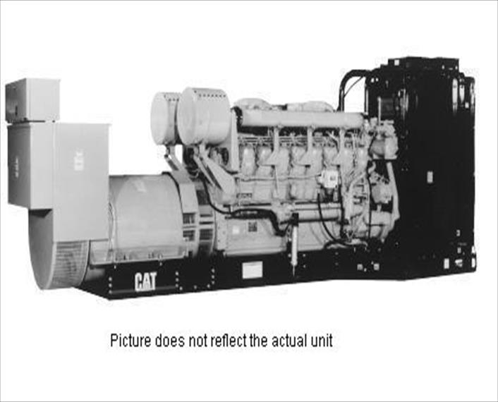 2008 Caterpillar 3516B HD Generator Set
