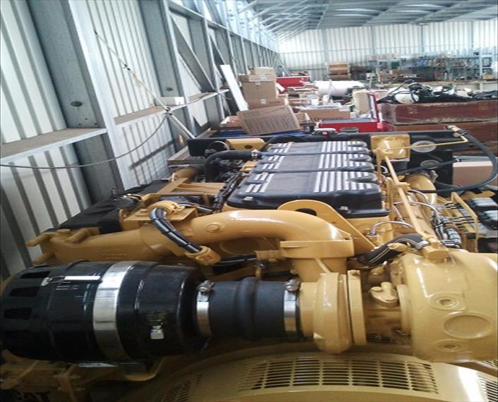 2011 Caterpillar C18 Generator Set