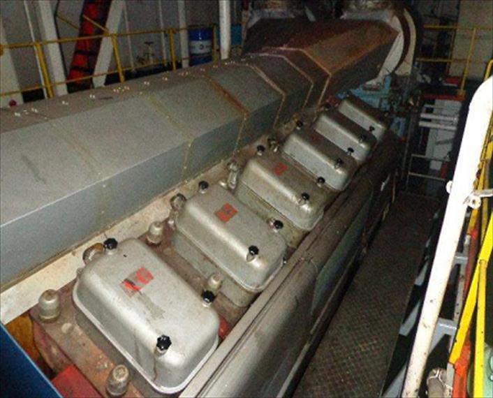 2007 Wartsila 12V38 Engine | IMP