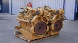 Caterpillar 3412C DIT Engine