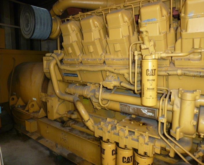 1989 Caterpillar 3512 Generator Set