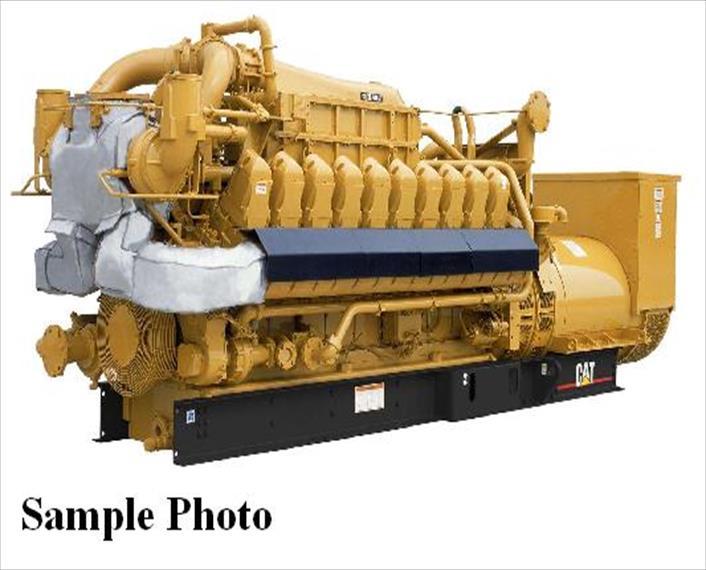 Caterpillar G3520C Generator Set