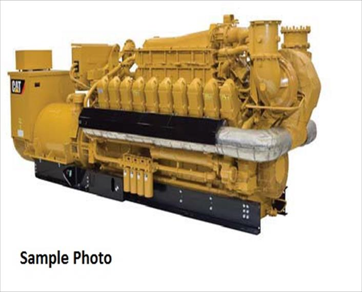 2013 Caterpillar G3520E Generator Set