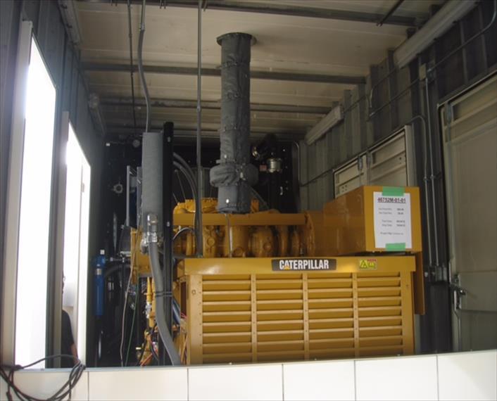 2012 Caterpillar G3512 TA Generator Set