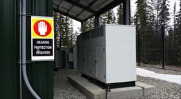 2013 Olympian G150LG Generator Set