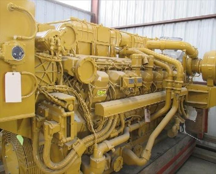 New CAT 3516C HD Engine
