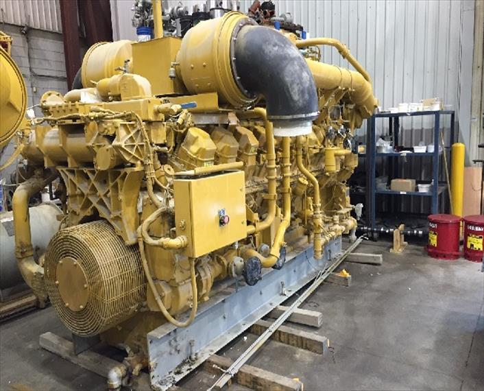 2009 Caterpillar G3520 LE Engine