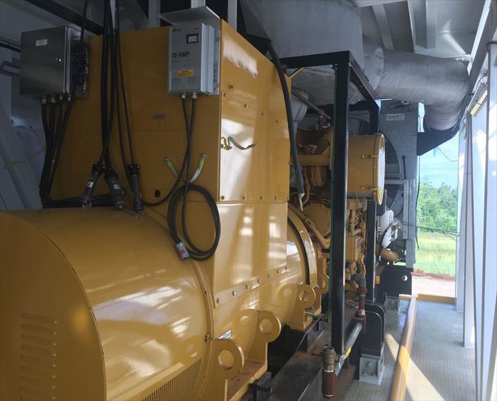 2013 Caterpillar 3516C HD Generator Set