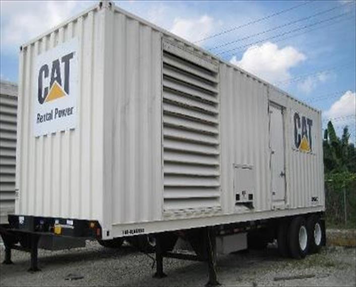 2007 Caterpillar XQ800 Generator Set