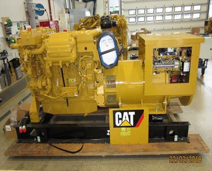 2017 Caterpillar C18 Generator Set