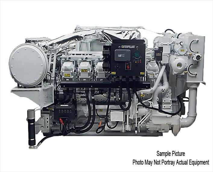 2015 Caterpillar 3512C HD Engine
