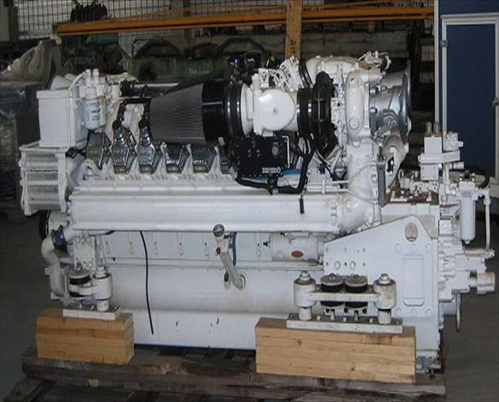 2006 Detroit MTU 16V2000 M90 Engine   IMP