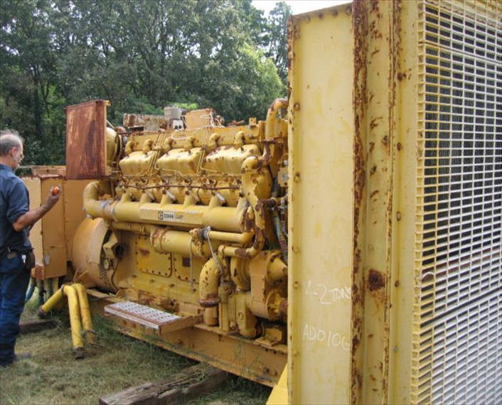 Caterpillar D398B Generator Set