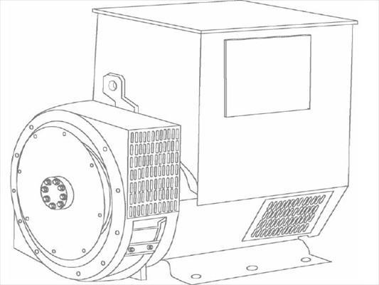 Caterpillar SR4 Generator End   IMP