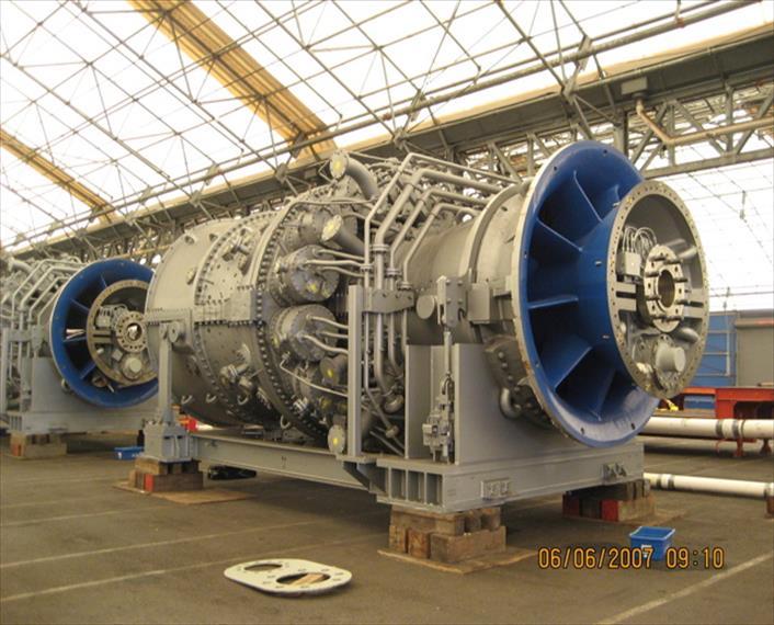GE GE 7FA Generator Set