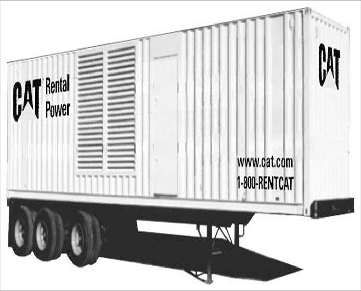 Caterpillar XQ1000 Generator Set