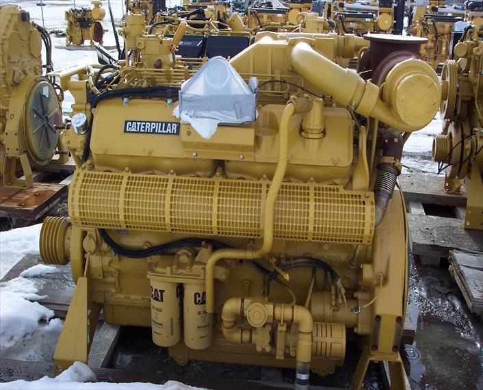 Caterpillar 3412C Engine