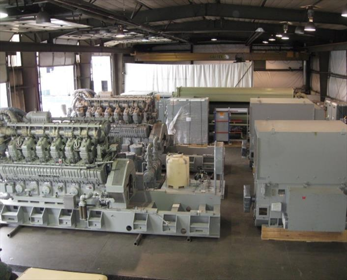 2004 Waukesha 12V AT27GL Generator Set