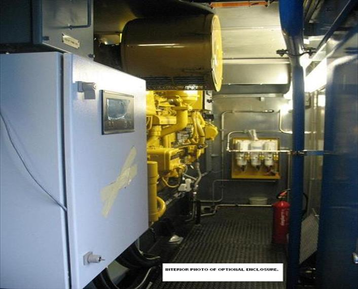 2008 Caterpillar 3516B Generator Set