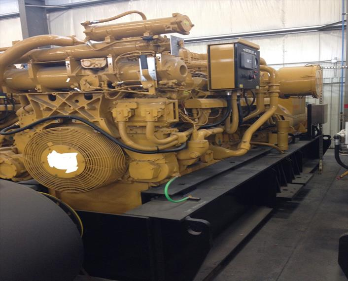 2009 Caterpillar 3516C HD Generator Set